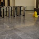 fume emeperador marble has been used at luxury Project on heavy trafficking floor at london UK