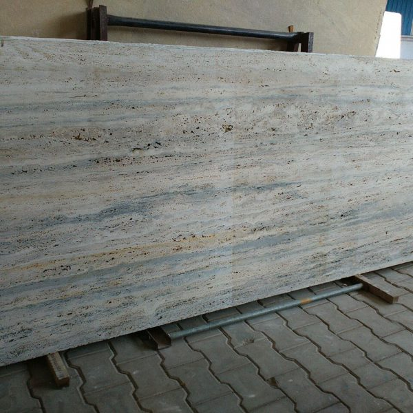 blue travertine